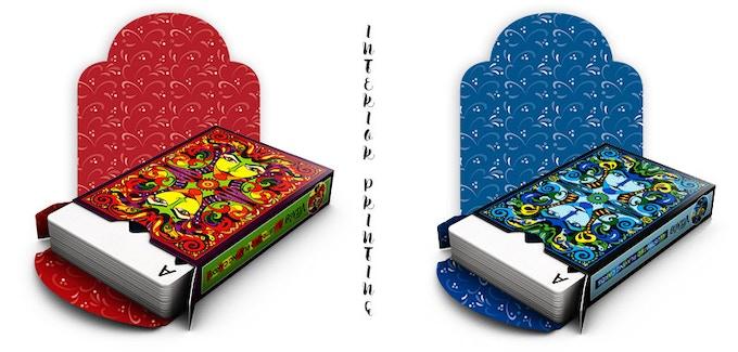 Lumina & Lumino - tuck box interior printing