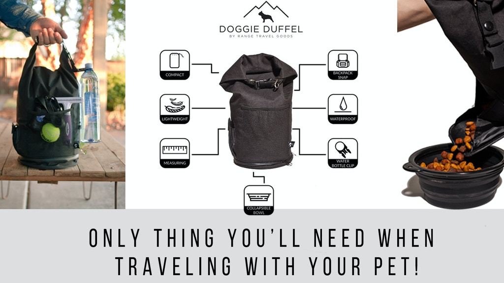 Doggie Duffel - The World's BEST Travel Bag for Your Pet project video thumbnail