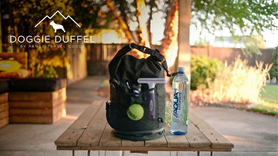 Doggie Duffel - The World's BEST Travel Bag for Your Pet