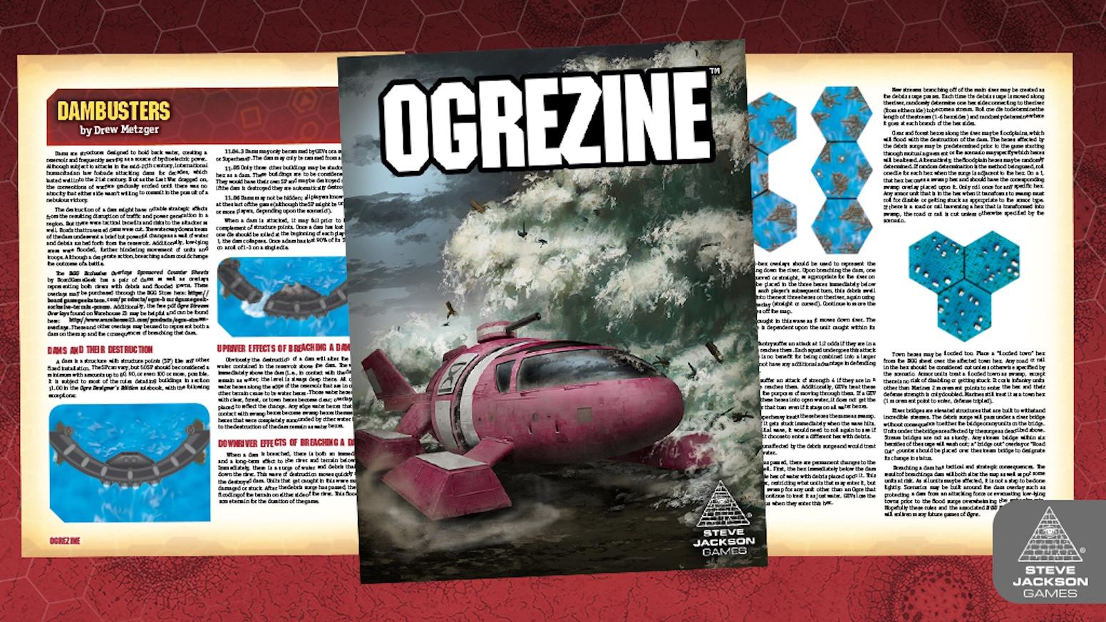 Ogrezine - The Ogre Magazine by Steve Jackson Games