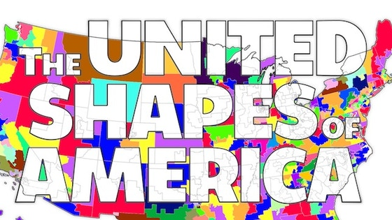United Shapes of America: Congressional Coloring Book