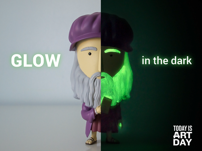 Special feature: glow-in-the-dark!