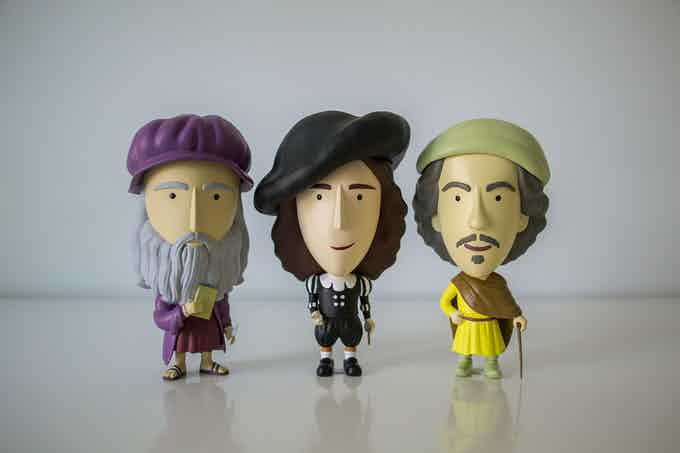 New (but old) friends: Leonardo, Vermeer & Rembrandt