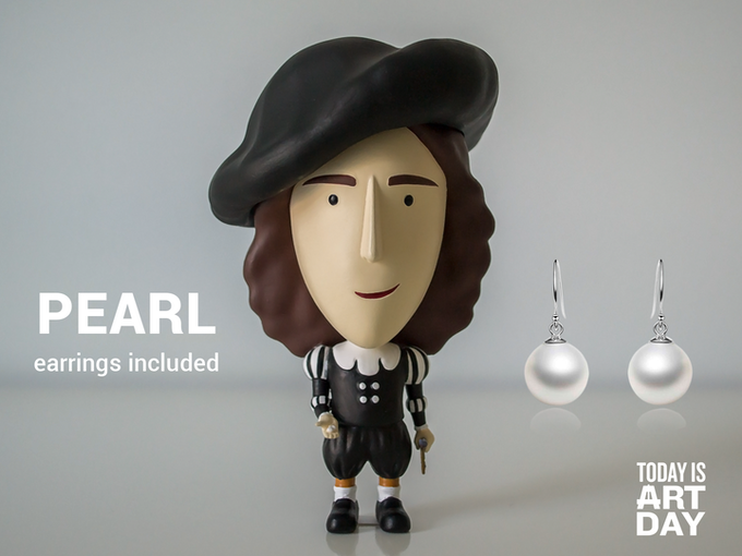 Special feature: pearl earrings!