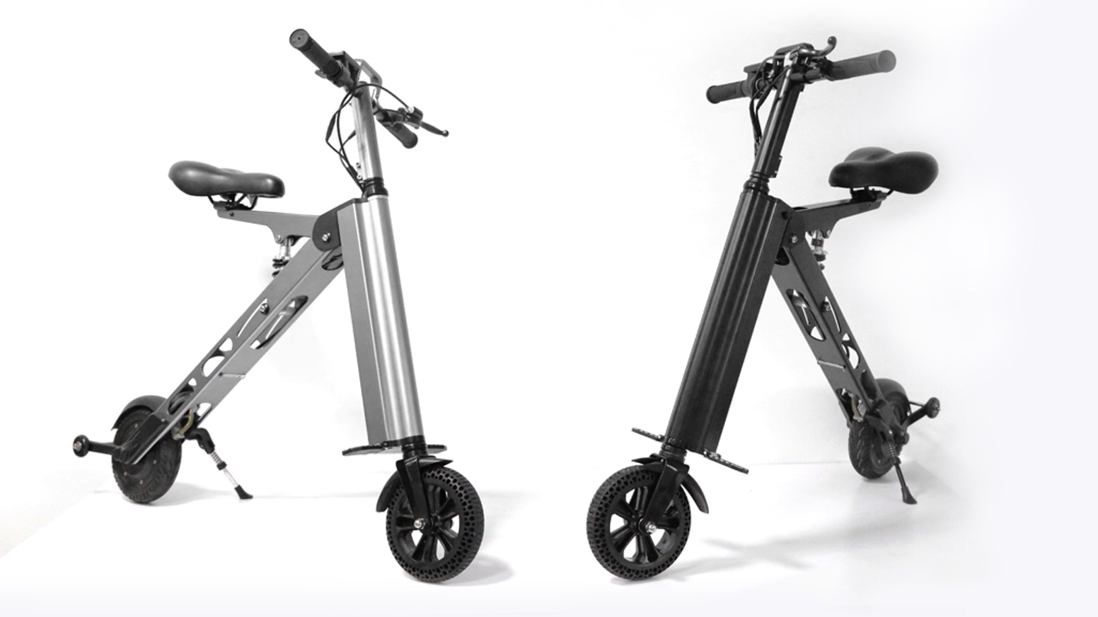 This lightweight electric scooter that folds is designed for modern, mobile individuals who are looking for hassle free transportation.