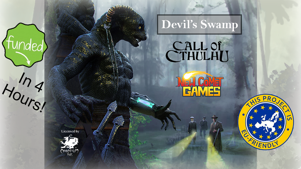 Devil's Swamp - A Call of Cthulhu RPG Adventure project video thumbnail