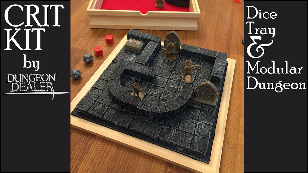 CRIT KIT - Dice Tray and Portable Dungeon project video thumbnail