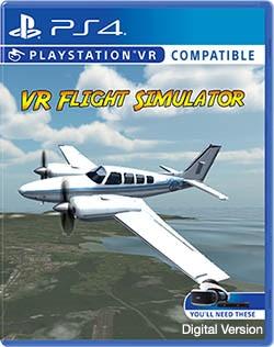 VR Flight Simulator - PS4 - Digital version