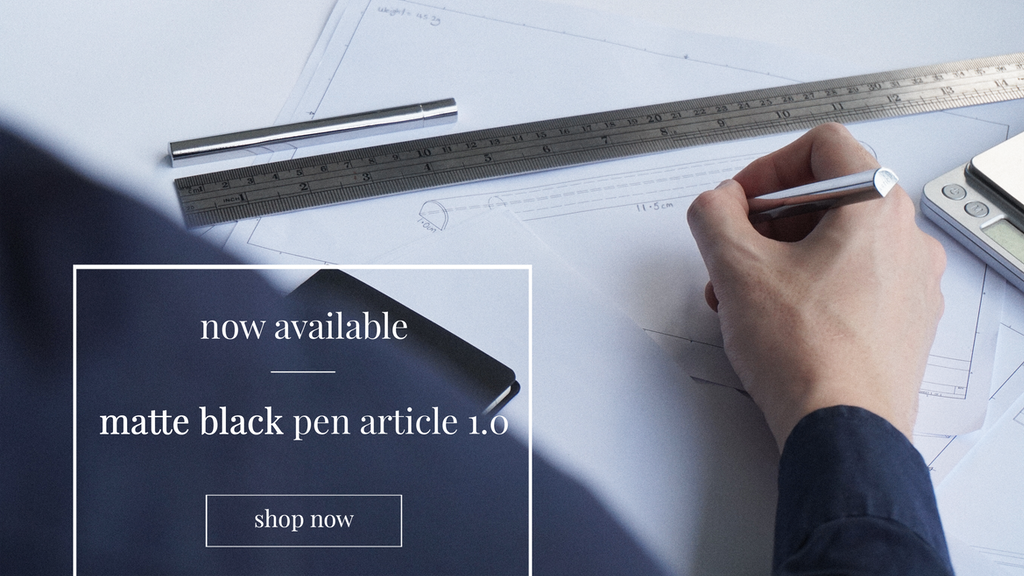 Pen Article 1.0: World's First Precision Semicircle Pen by ...
