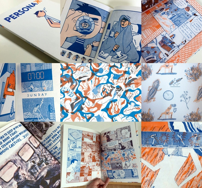 Highlights from PersonaЖ 1, our first book about Nikolai, the quiet Moscow van driver
