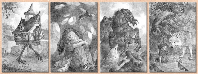 Some of the Amazing Interior Illustrations