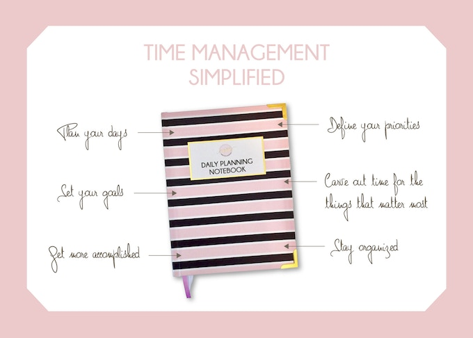 the work with intention daily planning notebook is a great tool built around core time management principles designed to help you plan your day at work