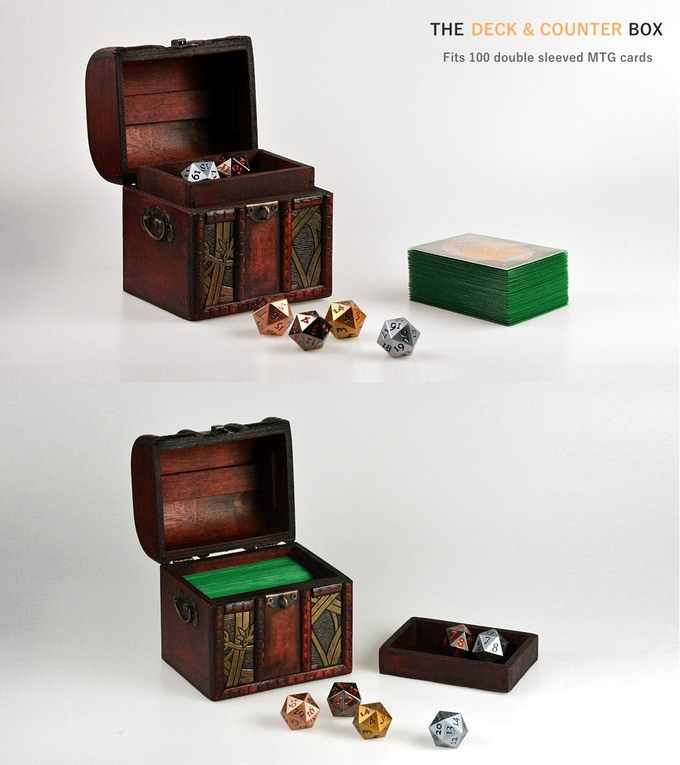 Perfect for storing 100 double/triple sleeved EDH Deck.