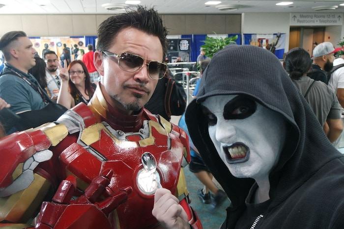 Tony Stark meets Ginosaji!