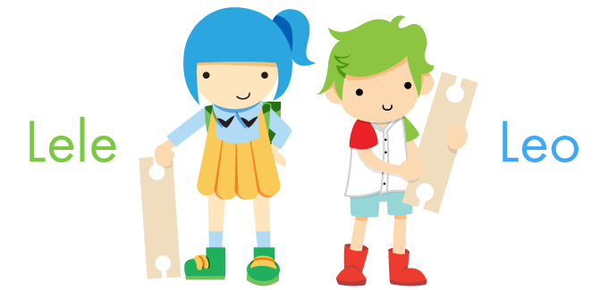 Leo & Lele are our Bokah Ambassadors! They're mischievous kids sometimes but very smart and clever all the times. They use Bokah Blocks to create amazing things and inspire you to do the same.