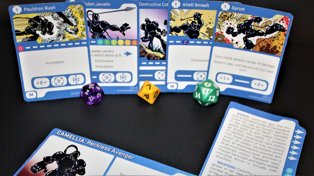 Clash - A Fast, Character Driven Card Game for Two Players project video thumbnail