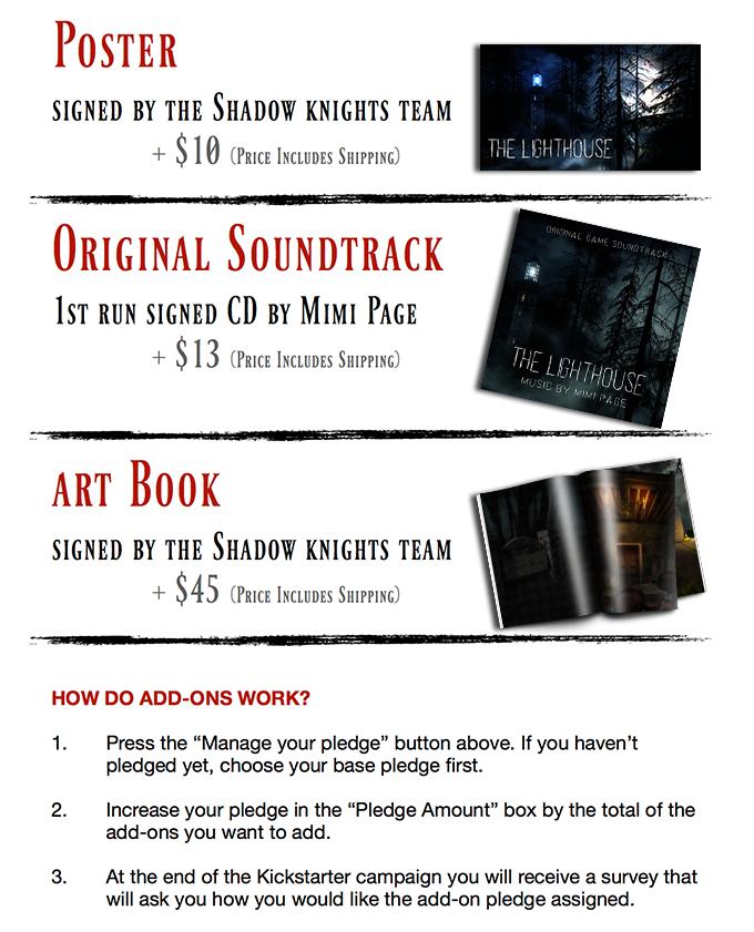 The Lighthouse by Shadow Knights Studio — Kickstarter
