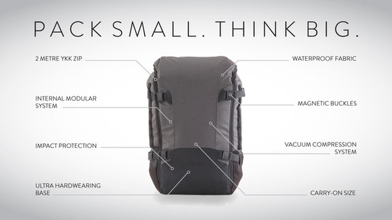 GoBag | The Ultimate Carry-on Backpack