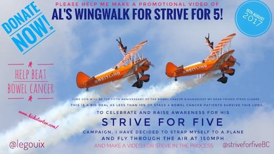 Al's going to Wingwalk