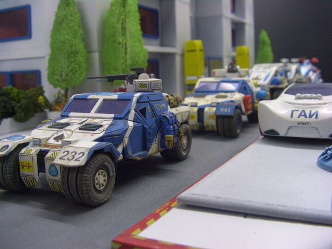 Some of our existing GOT vehicles in use..