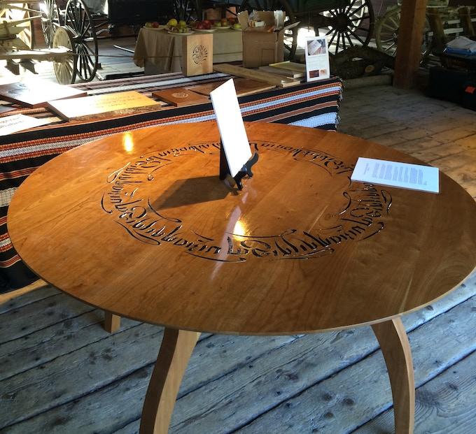 The stunning Tibetan Blessing Table