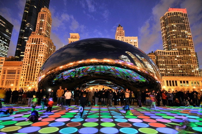 Luminous Field | Millennium Park, Chicago | Luftwerk, 2012