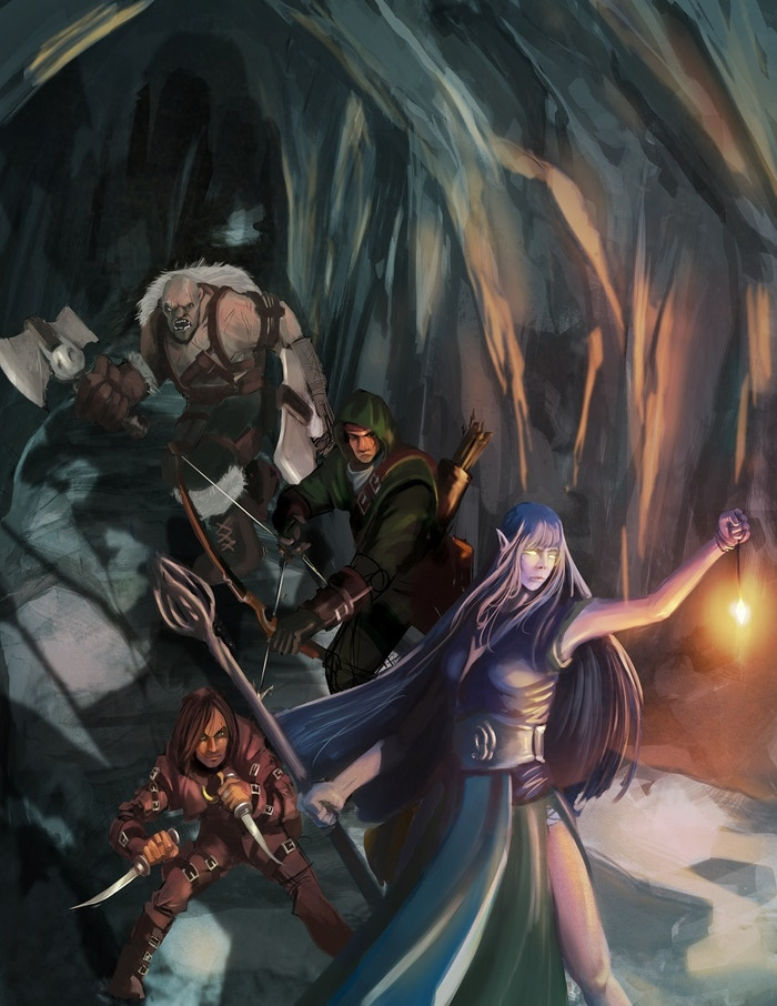 A campaign region and three 1st level/2nd level adventures to get a new DnD campaign started.
