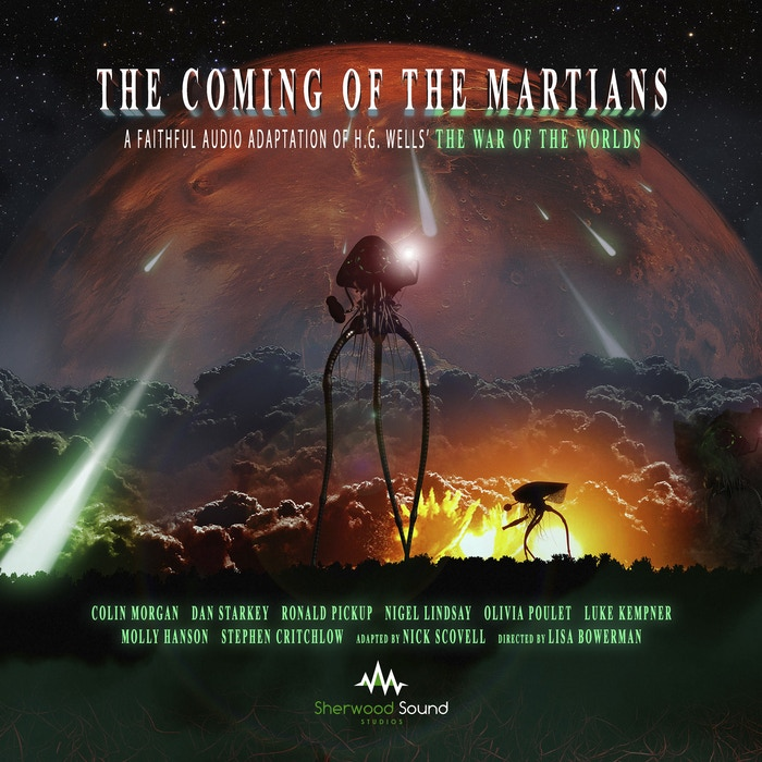 Award-winning actor COLIN MORGAN stars in a full-cast audio dramatisation of H. G. Wells' famous 1897 science-fiction novel The War of the Worlds.
