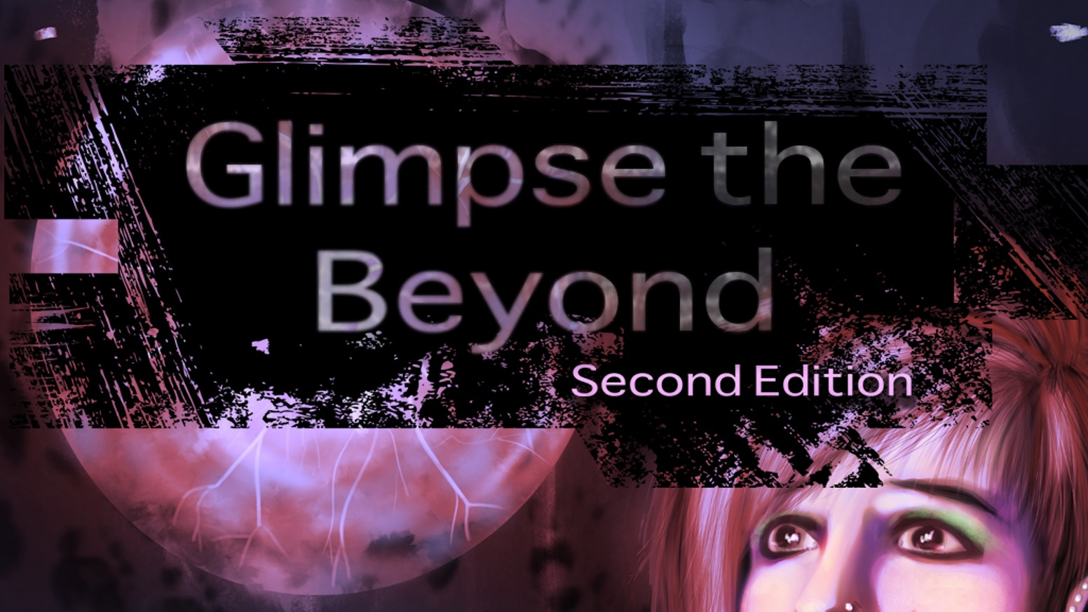 A new edition of the Electrum Best Selling Cosmic Horror Tabletop Role-Playing Game: Glimpse the Beyond