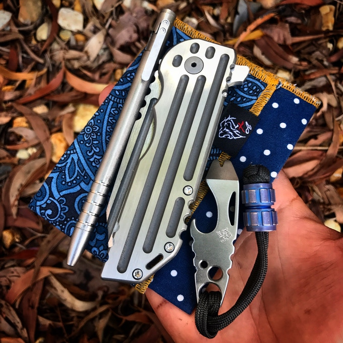 He Only Carries Titanium. Thanks LionTribe!