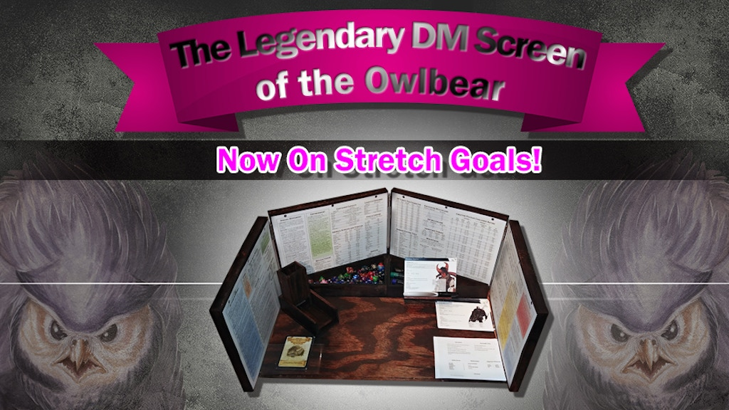 Legendary DM Screen of the Owlbear project video thumbnail
