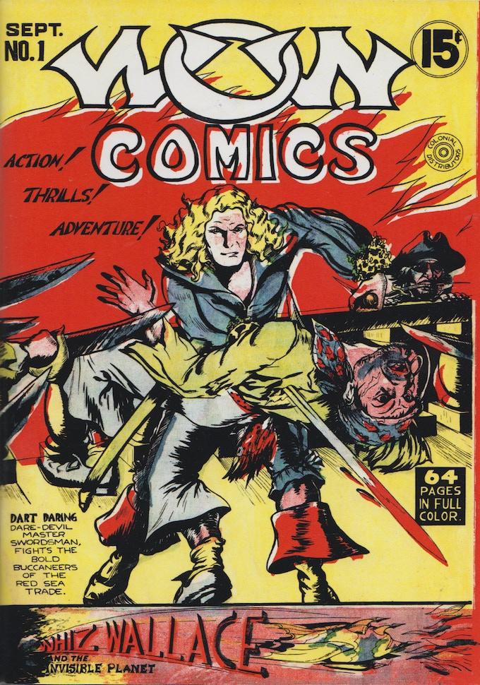 WOW Comics No. 1 reprint reward.