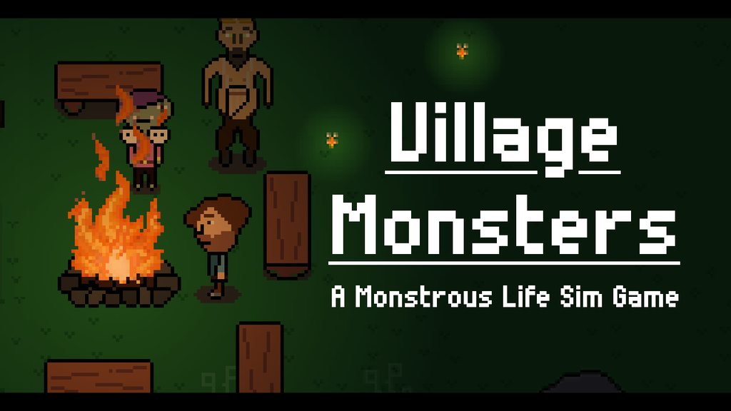Village Monsters - A Monstrous Life Sim Game project video thumbnail