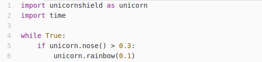 Das ist ein Python Beispiel