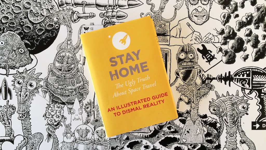 Stay Home: Book reveals the ugly truth about space travel project video thumbnail