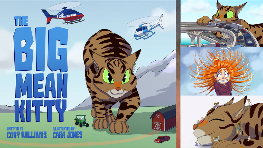 The BIG Mean Kitty - Children's Book project video thumbnail