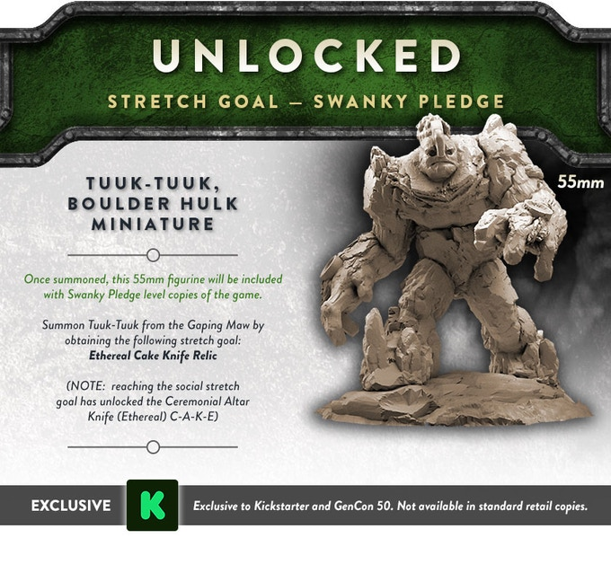 Unlocked via Social Stretch Goals!