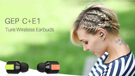 C+E1: Ultra Small Wireless Bluetooth Sports Earbuds