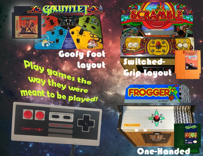 NES Arcade ports can now be played as intendend, on our favorte D-pad.