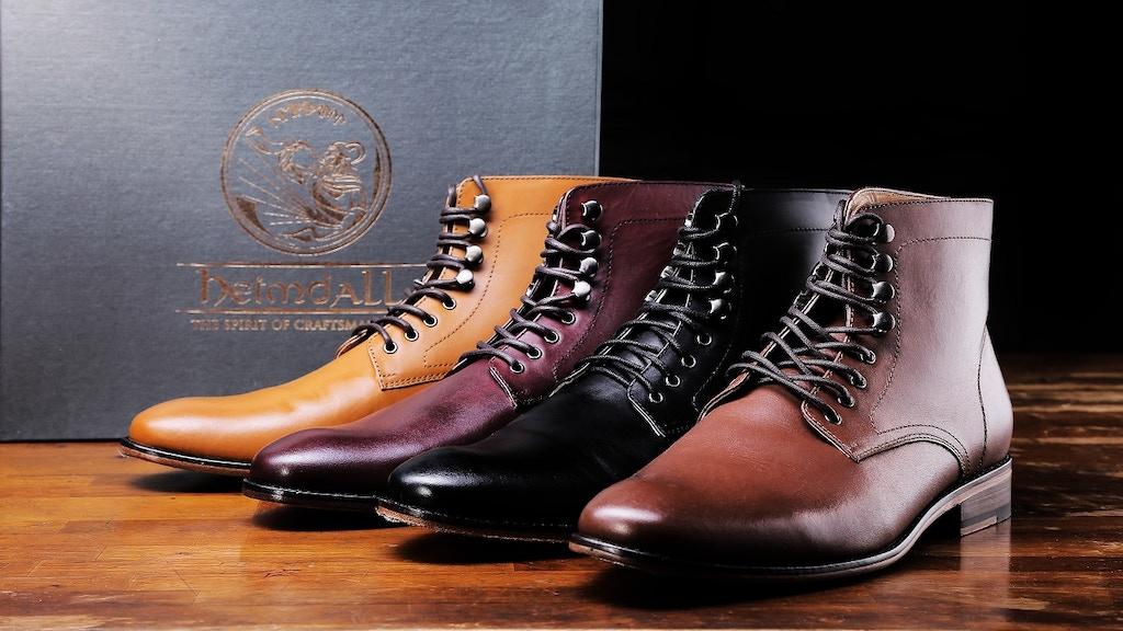 Heimdall Footwear | Finest Gentleman Boots & Shoes project video thumbnail