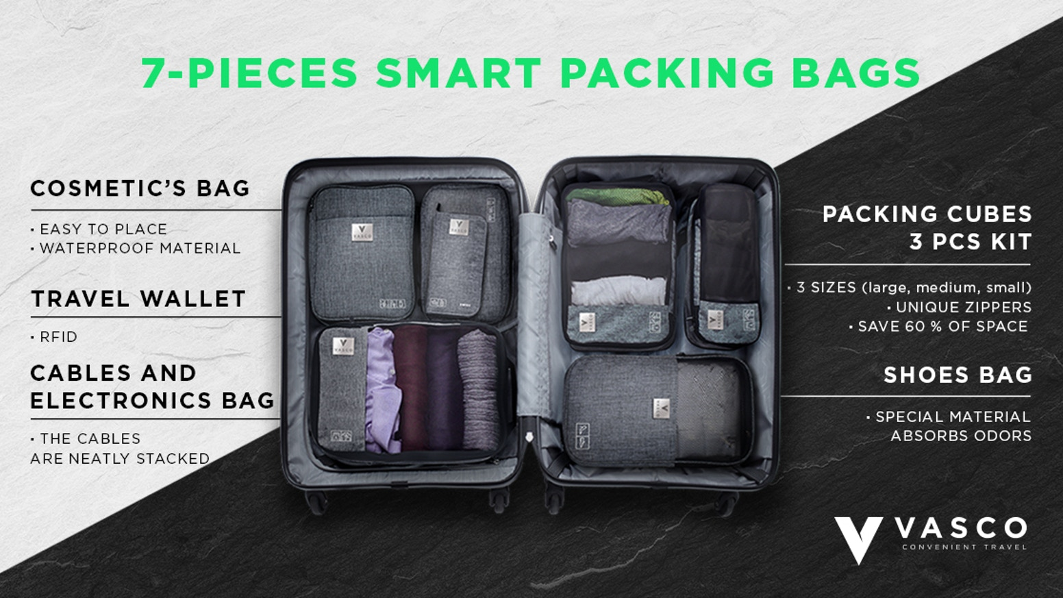 7 most functional bags and packing cubes that will make your trip incredibly easy