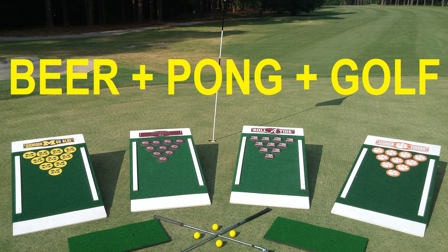 Not too late! Get Yours Today! Like us on Facebook for a cool coupon code too! Find us at www.beerpong.golf