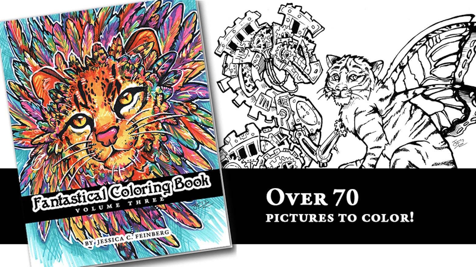 Fantastical Coloring Book 3