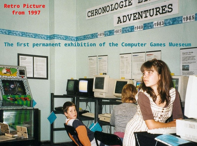 1997, the first exhibition