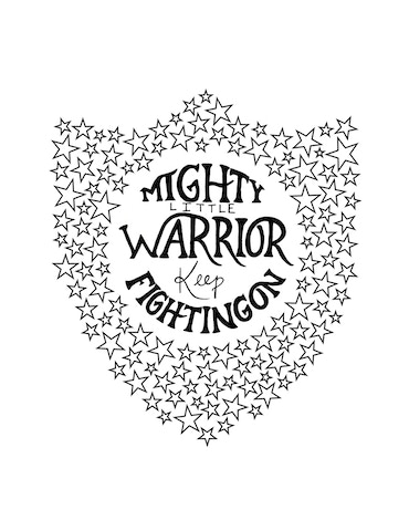 One of the designs for our fundraising shirts