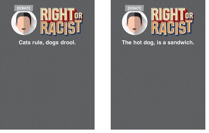 Debate Cards (100)