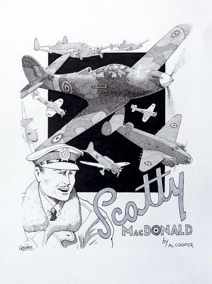 Ger Hard Scotty McDonald illo.