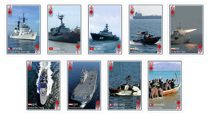 Diamonds - North Korea, Egypt, Iran, Vietnam and Philippines