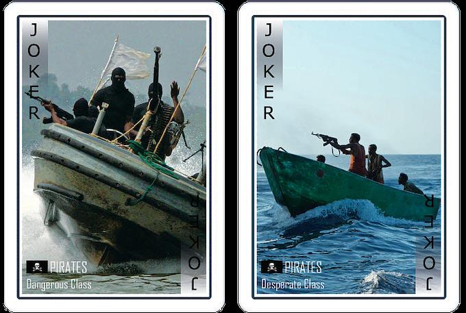 Joker cards - Pirates of the modern world