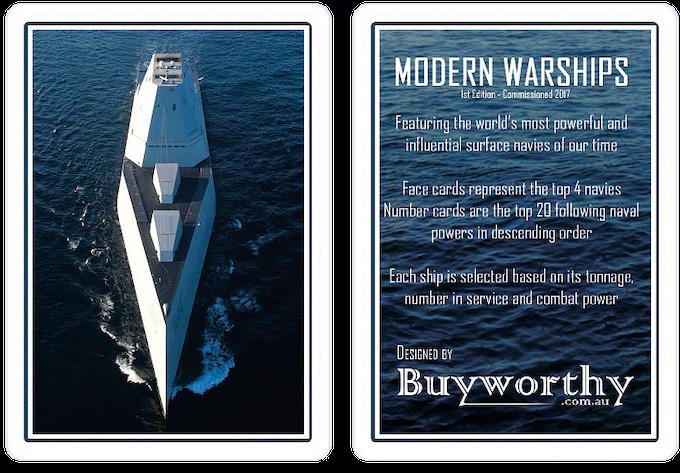 Modern Warships - Bonus Cards